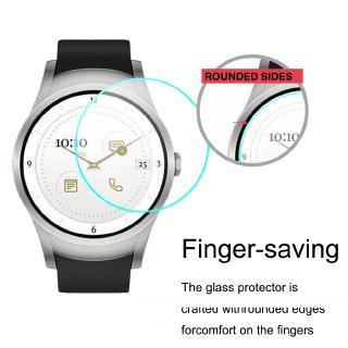Đối với Verizon Wear24 Kính cường lực 2,5D 9H 0,3mm Kính bảo vệ màn hình siêu mỏng Smartwatch HD Kính cho Verizon Wear 24