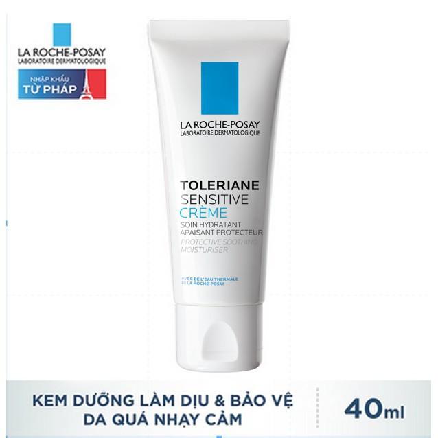 La Roche-Posay Kem Dưỡng Làm Dịu Và Bảo Vệ Da Nhạy Cảm 40ml Toleriane  Sensitive | Shopee Việt Nam