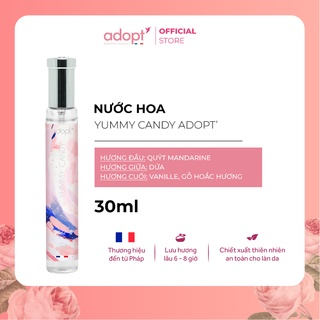 Nước hoa nữ Adopt YUMMY CANDY Nước hoa Pháp chính hãng - Adopt Eau de Parfum For Women 30ml với hương thơm tươi vui thumbnail