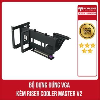 Bộ giá đỡ dựng VGA kèm Riser Cooler Master V2 hàng chính hãng