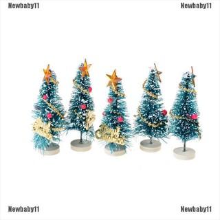 【COD•newb】6.5cm High DollHouse Christmas Tree DIY Miniature Decor Photography