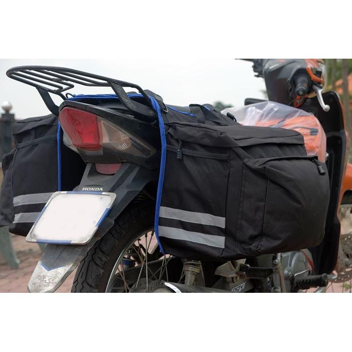 [Mã MASOHVGAP giảm 15% TỐI ĐA 50K đơn 100K] Túi Gác yên xe máy đi phượt chống mưa