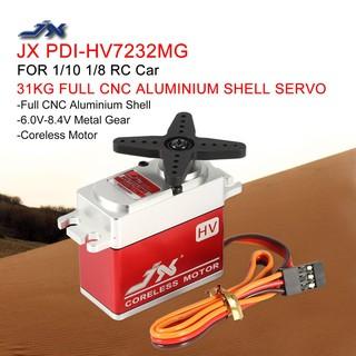 JX PDI-HV7232MG 31KG Metal Gear Coreless Servo for 1/10 1/8 RC car Airplane
