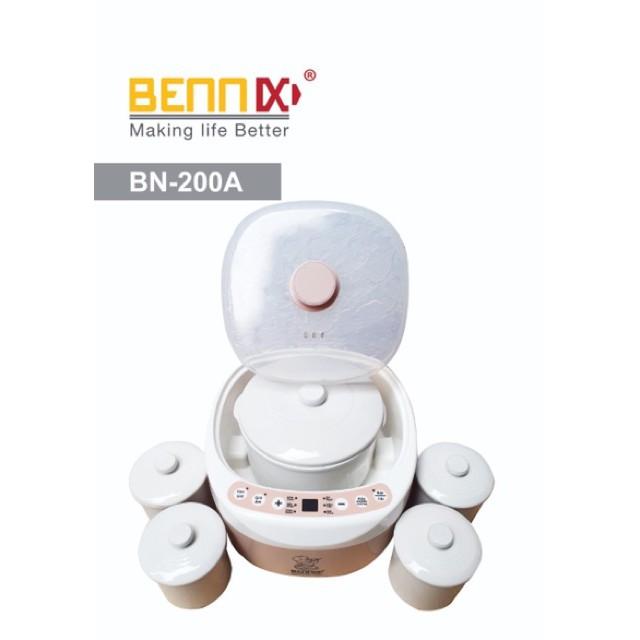 Nồi hầm cách thủy (nồi chưng yến) điện tử Bennix BN-200A, dung tích 2 lít, hàng Thái lan bảo hành 1 năm chính hãng