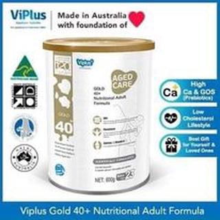 SỮA ÚC VIPLUS GOLD 40+ Nutrinational Adult Formula 800g