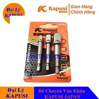 Bộ Chuyển Vặn Khẩu, Bộ Chuyển Bulong Cho Máy Khoan Bắn Vít 3 Cây Kapusi