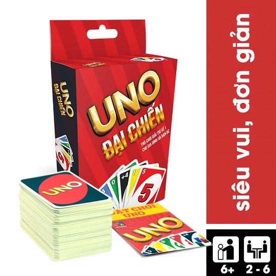 Bài Uno cơ bản loại dày chính hãng