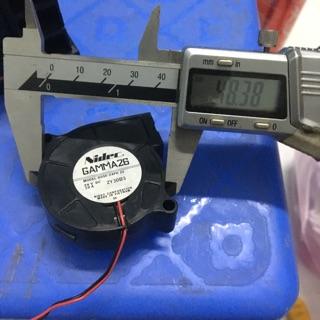 Quạt tản nhiệt sò mini 5cm 12-24V thumbnail