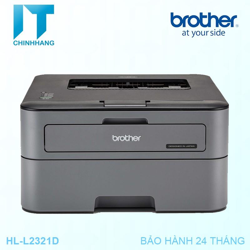 [Mã ELCLDEC giảm 7% đơn 500k]Máy In Laser Đơn Năng Brother HL L2321D-