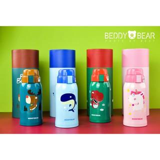 BEDDY BEAR Bình giữ nhiệt cho bé dung tích 600-630ml inox cao cấp 316 2 nắp ống hút,giữ nhiệt, cho bé trai gái thumbnail