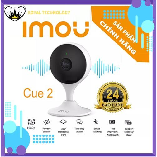 [NPP CHÍNH HÃNG] Camera Wifi Dahua Cue2 IPC C22EP IMOU 1080p Full HD - Ống kính 2.8mm siêu rộng, đàm thoại 2 chiều