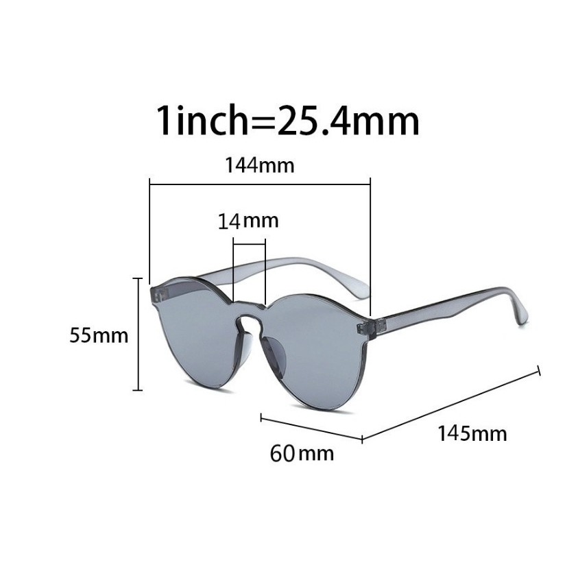 Sunglasses Eyewear Simple Port Summer Fashion Couples 1Pcs