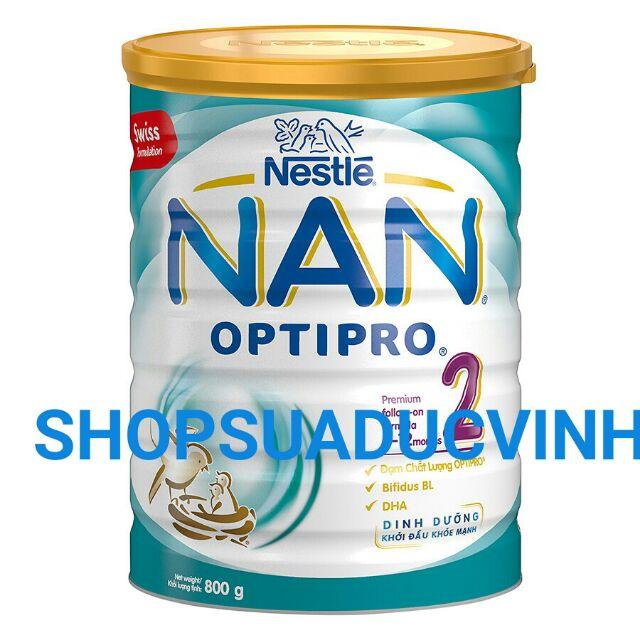 MẪU MỚI Sữa bột Nestle Nan 2 800g date 08/2019 - 2543083 , 39649160 , 322_39649160 , 369000 , MAU-MOI-Sua-bot-Nestle-Nan-2-800g-date-08-2019-322_39649160 , shopee.vn , MẪU MỚI Sữa bột Nestle Nan 2 800g date 08/2019