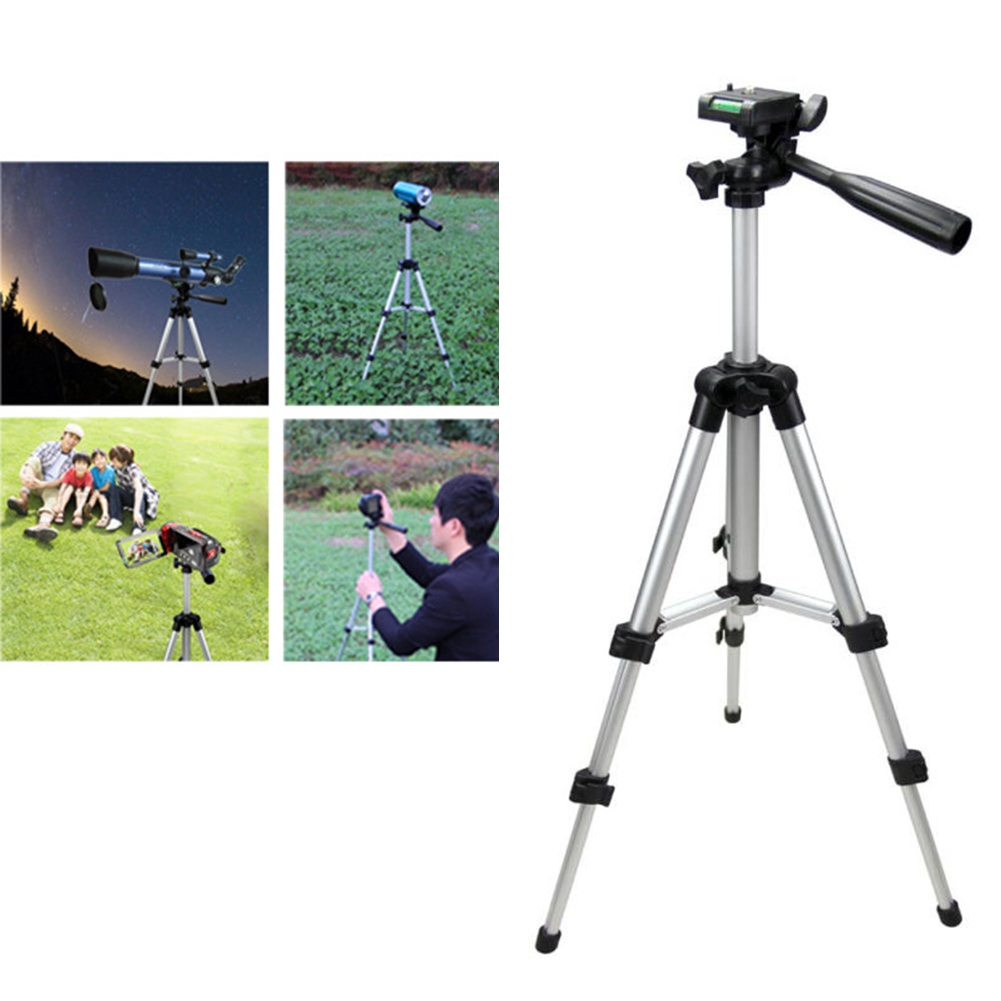 Portable Adjustable Tripod Stand for Digital Camera Mini Projector Smartphone