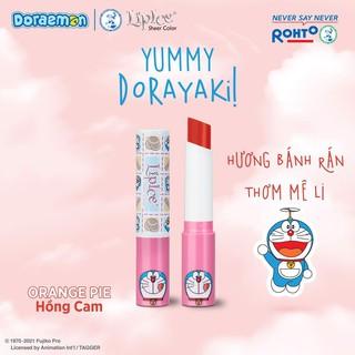 COMBO [LipIce Sheer Color Special Edition] Son Dưỡng Môi Có Màu LipIce Doraemon Sheer Color 2.4g và Mặt nạ ủ môi Carenel thumbnail