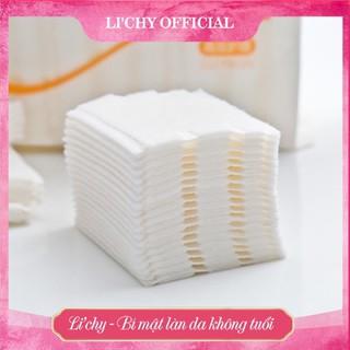 Bông tẩy trang Cotton Pads 3 lớp mềm mịn [Túi 222 miếng]