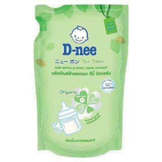 Nước rửa bình Dnee Organic túi 600ML