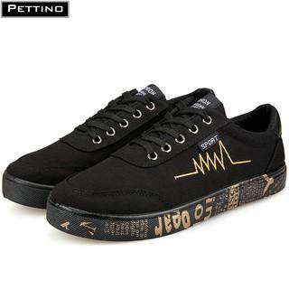 Giày thể thao nam, đế chữ, nhịp tim thời trang vải thoáng khí PETTINO - PZS02