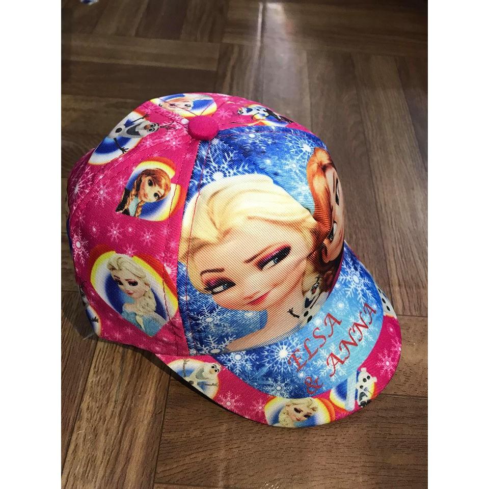 mũ bé gái in hình công chúa