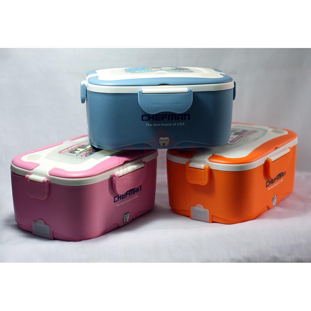 Hộp cơm hâm nóng tự động chefman ruột inox kèm túi đựng - 2693518 , 28480080 , 322_28480080 , 420000 , Hop-com-ham-nong-tu-dong-chefman-ruot-inox-kem-tui-dung-322_28480080 , shopee.vn , Hộp cơm hâm nóng tự động chefman ruột inox kèm túi đựng