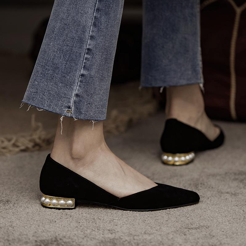 Giày Búp Bê Mũi Nhọn Thời Trang Thanh Lịch Dành Cho Nữ