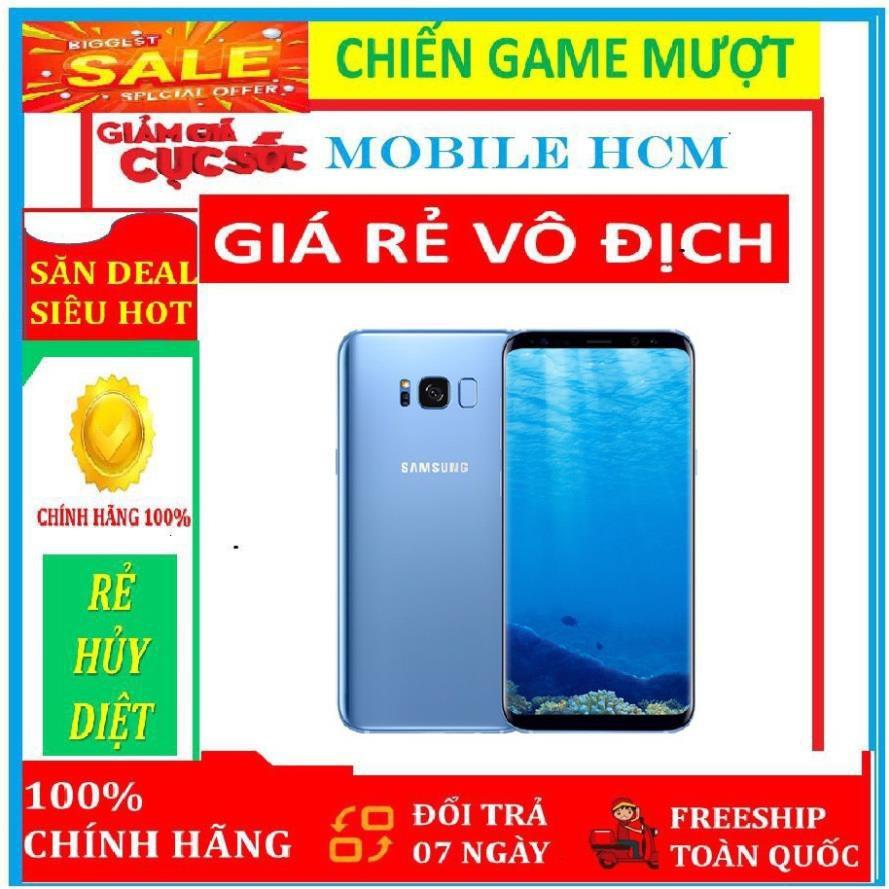 điện thoại Samsung Galaxy S8 2sim 64G ram 4G mới - bảo hành 12 tháng