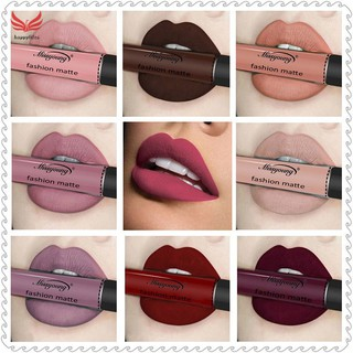 HL Women Matte Liquid Lipstick Waterproof Lip Gloss Long Lasting Lady Girl Makeup Lips Stick thumbnail
