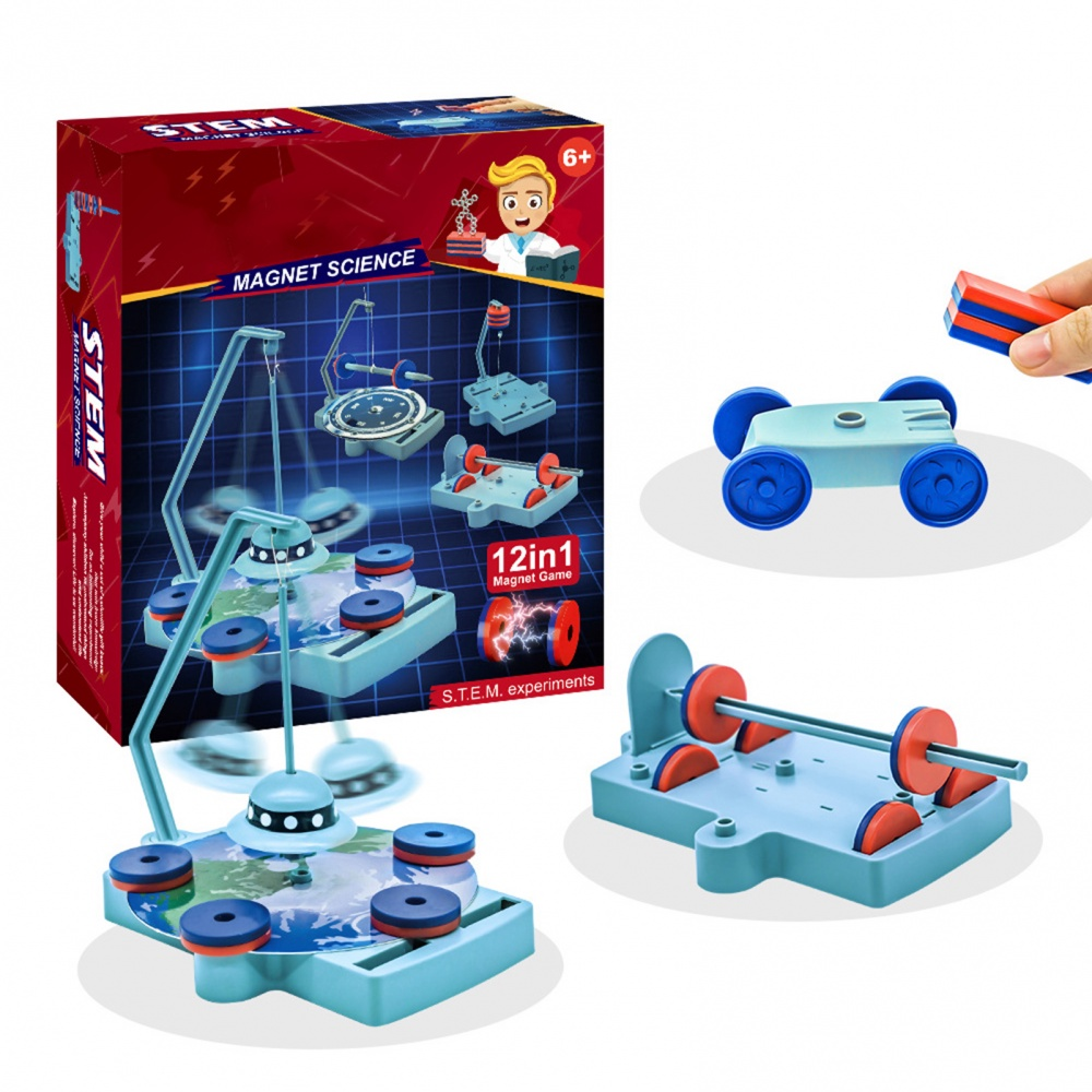 12-in-1 Magnetic Science Experiment Kit Magnetic Levitation Toys