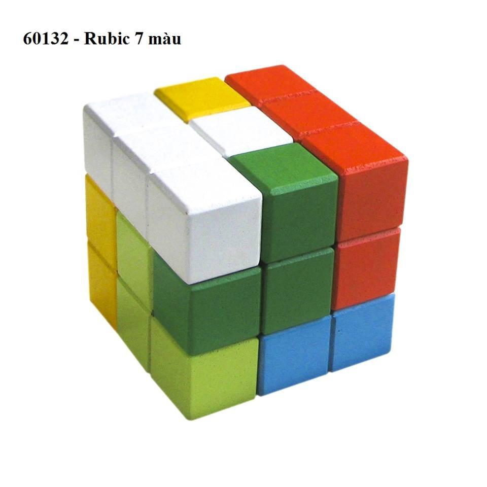 ĐỒ CHƠI CHO BÉ – RUBIC 7 màu (rubik)