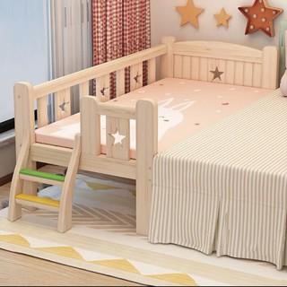 Giường ngủ gỗ Thông cho bé đến khi 18 tuổi 200*100*40 cm 3 mặt 💥LIBERI ONE 💥