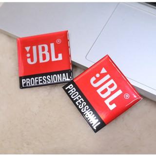 Logo JBL lớn dán thùng loa, loa sub