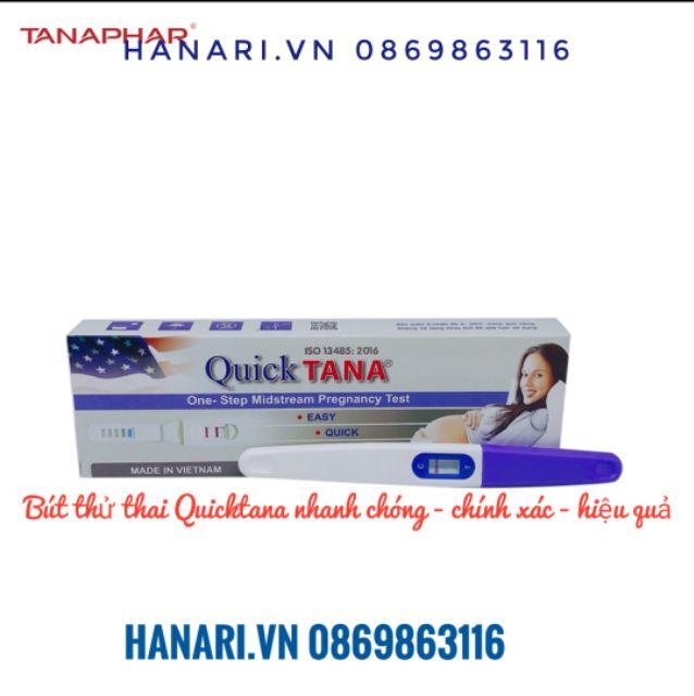 [ Chính xác nhất] Bút thử thai nhanh QUICK TANA (Quicktana) không cần cốc nghiệm Hà Nội