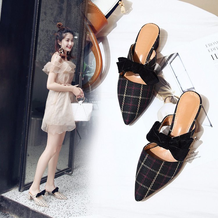 Only from half a female sandals 2018 new Korean summer version of thick with sha