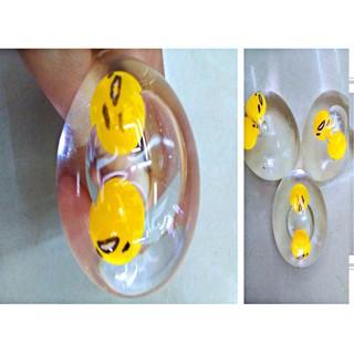Gudetama trút giận trứng biến thái squishy bóp mềm MSSP XE6199