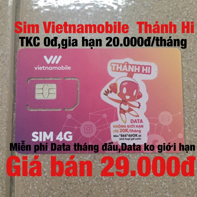 Sim Vietnamobile Thánh Hi