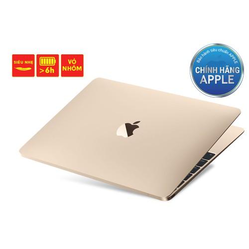 DMSG1 Macbook 12″ MLHF2 Core M 1.2G/8GB/512GB Giá chỉ 34.990.000₫