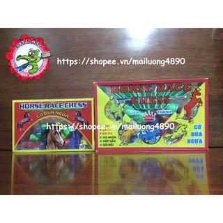 ❤️Freeship❤️ Bộ đồ chơi cờ cá ngựa bằng nhựa 4 người chơi loại đẹp