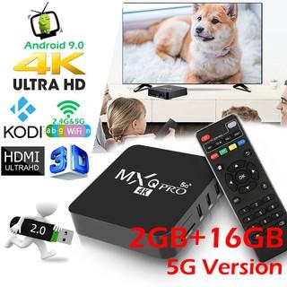 5G Version MXQ PRO 4K Android TV BOX 2+16GB RK3229 Quad-Core Android 9.0 Smart TV Box thumbnail