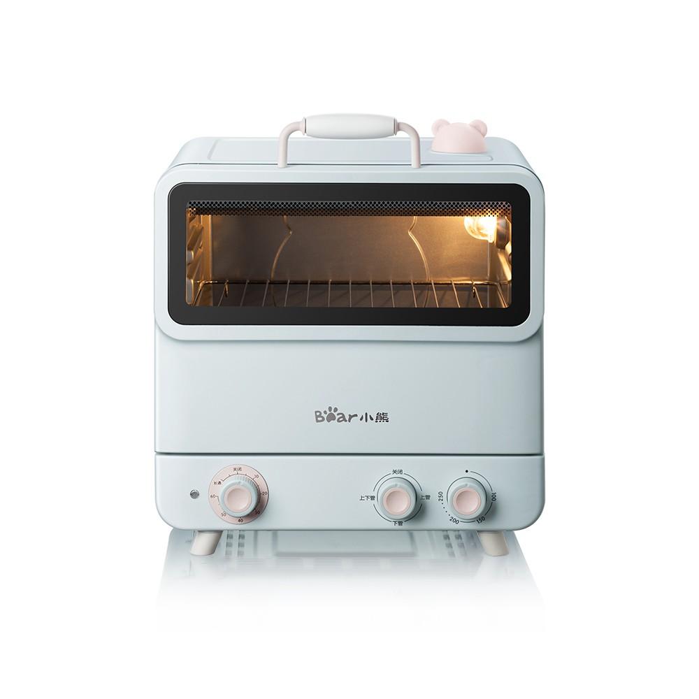 ✕Lò nướng điện gia đình Bear bánh mì mini nhỏ tự động hấp và 20 lít chính hãng