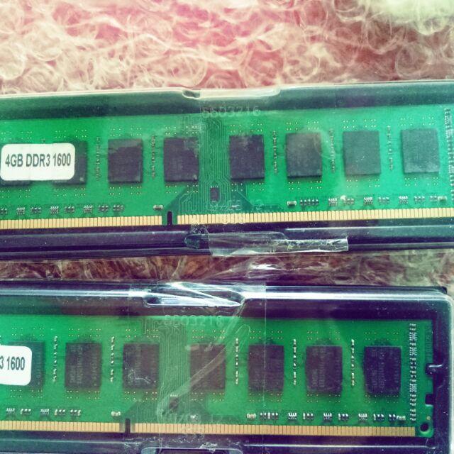 Ram ddr3 4gb 1600mhz AMD Giá chỉ 420.000₫