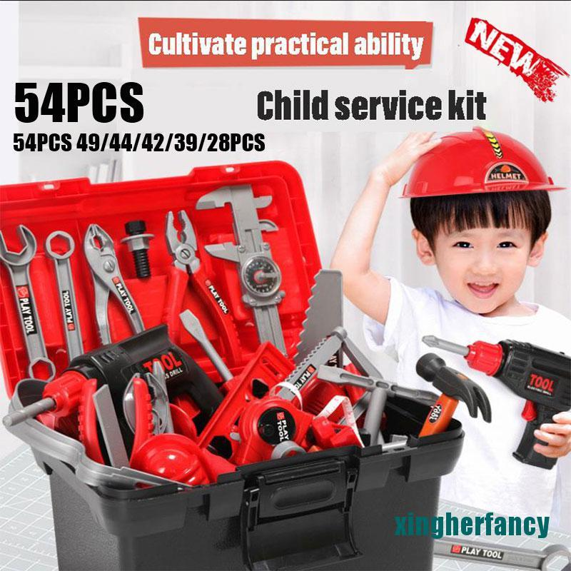 XYCC Children Simulation Repair Tool Set Plastic Pretend Play Toys Early Learning XJSS