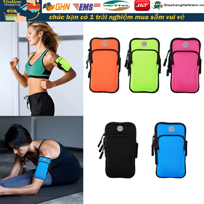 Arm Bag túi để điện thoại chống nước bảo vệ khi chạy túi để điện thoại đeo cánh tay túi đeo tay chạy bộ ngoài trời