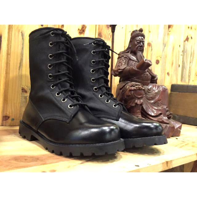 Giày ghệt cơ động cao cổ da cổ bạt cty 32 - Aseco BQP