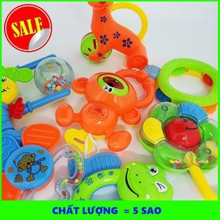 [SHIP NHANH] Bộ đồ chơi xúc xắc 8 món cho bé