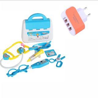 Đồ Chơi Hướng Nghiệp Bác Sĩ 9 In 1 Dream Toy tặng cốc sac 3 cổng Follow + Chat Now Để nhận Voucher Giảm Giá