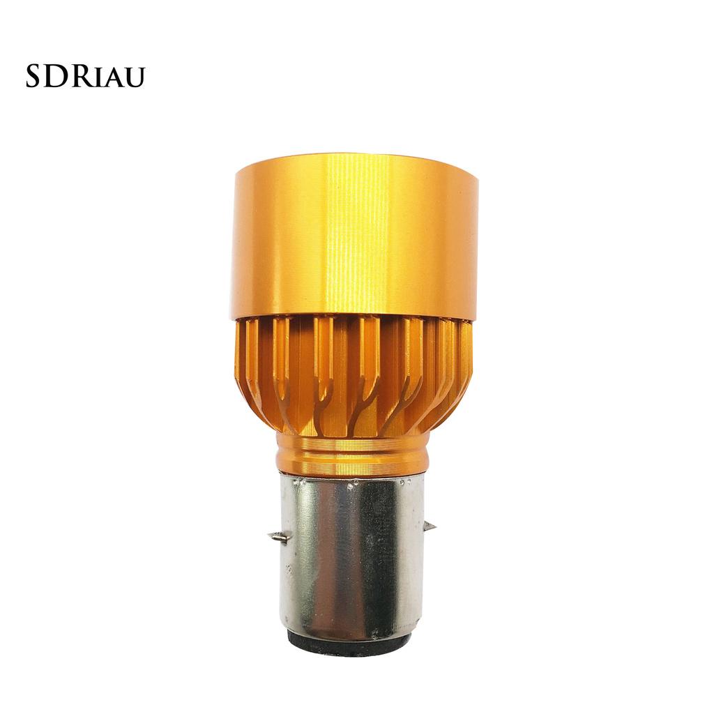 Đèn Pha Chống Thấm Nước H6 Ba20D 9w Cho Xe Mô Tô
