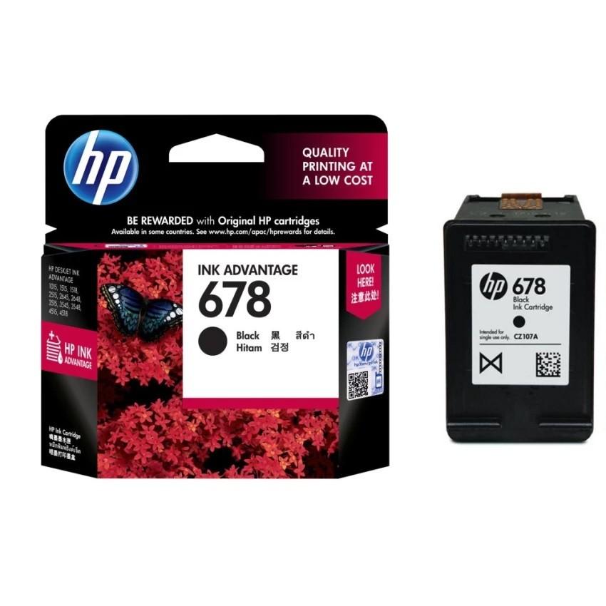 Mực in phun màu HP 678 (Hộp đen)