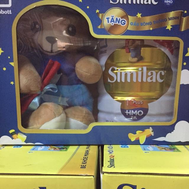 Sữa bột dinh dưỡng similacIQ4 900g tặng kèm 1 bé gấu