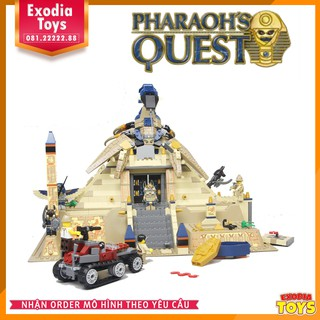 Mô hình lắp ráp Kim Tự Tháp Ai Cập   LEPIN 31001 – Lego Ideas 7327