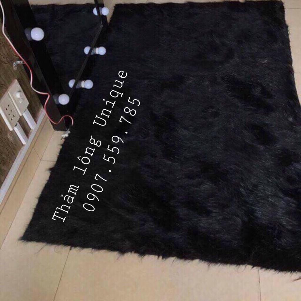 Thảm Lông Chụp Hình Sản Phẩm, Lót Sàn, Trải Bàn Trắng/ Xám